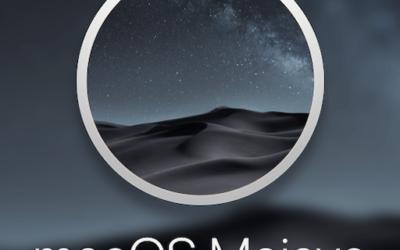 Nouveauté macOS Mojave: Passer du mode clair au mode sombre en un clic