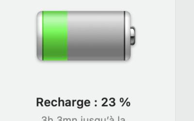 macOS Big sur: les nouveaux réglages de la batterie