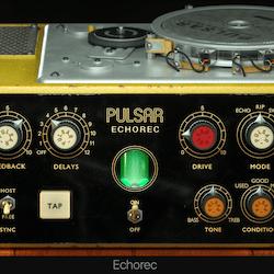 Modifier une rythmique de batterie avec le delay Echorec de Pulsar