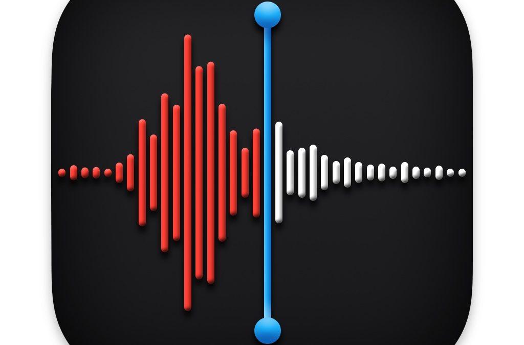 macOS Big Sur l'amélioration du son dans les mémos vocaux