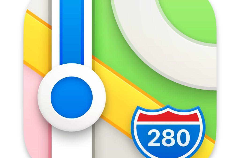 La vue 360 dans l'application Plans sur Mac