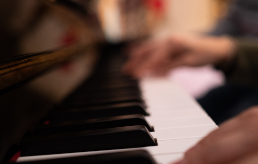 Harmonisation de la gamme majeure à 4 sons