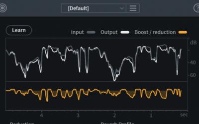 Corriger une prise de son de voix avec les plug ins IZOTOPE RX9